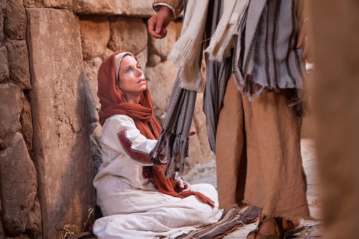 Jesus knew what had happened, and asked, 'Who touched me?' (Mark 5:30).