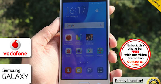Easy Unlock For Samsung Galaxy J3 Locked to Vodafone