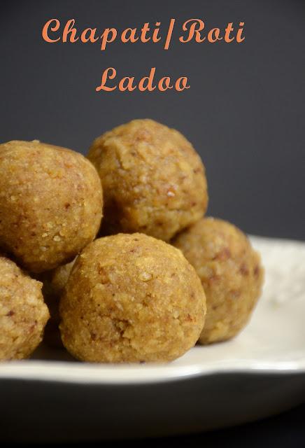 Roti/Chapati Ladoo Recipe   Tortilla Truffle   Kids Lunch Box Recipe Ideas