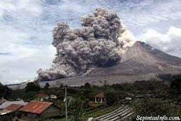 Wаww !!! Gunung Sіnаbung Mеlеtuѕ, Abu Vulkаnіknуа Sаmраі kе Aсеh