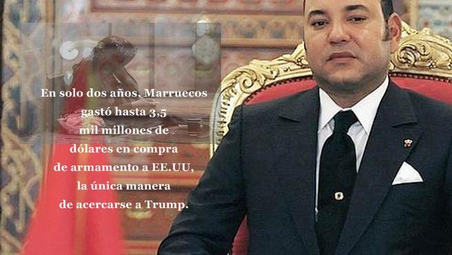 El régimen de Marruecos gasta miles de millones de dólares en armas