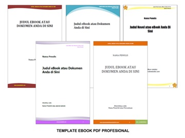 Template ebook pdf