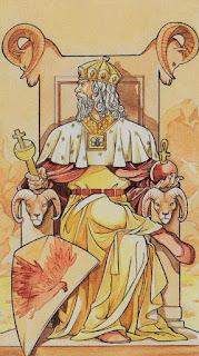 Características da carta O Imperador IV
