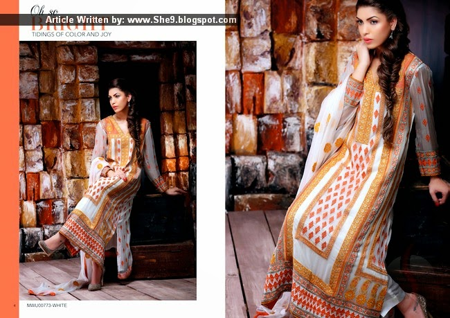 Motifz 2015 Collection in Crinkle Chiffon