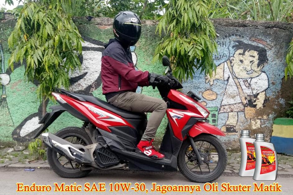 Pertamina Enduro Matic SAE 10W-30, Jagoannya Oli Skuter Matik