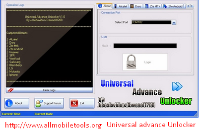 Universal Advance Unlocker Latest Version V1.0 Free Download