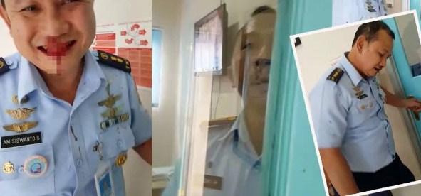 Anggota TNI AU Berkelahi Antara Kolonel Letkol Andi Herwanto dan Letkol Drg Siswanto