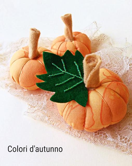 Zucca cucito creativo Halloween