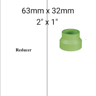 Jual reducer pipa ppr lesso 63mm x 32mm