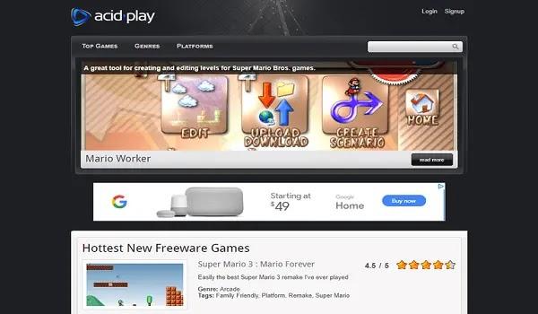 موقع Acid Play تحميل العاب خفيفة للحاسوب