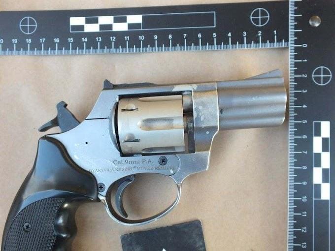 Őrizetbe vették a rendőrök a székesfehérvári fegyveres rablás elkövetőjét