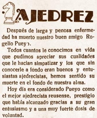 Recorte del Diario de Reus, 9/8/1929