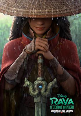 Disney Divulga o Emocionante Trailer de Raya e o Último Dragão