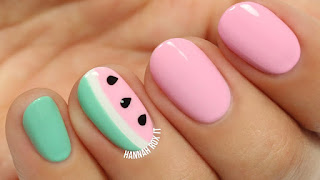 Art of Mint and Nail Melon