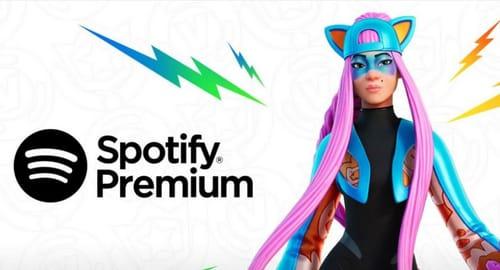 Fortnite Crew subscribers get Spotify Premium