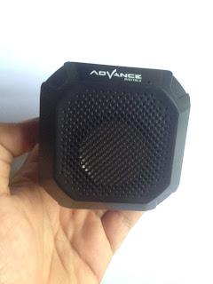 review menggunakan langsung speaker bluetooth merk advance