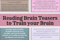 Reading Brain Teasers to challenge and train your Brain