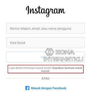 Cara Mudah Mereset Password Instagram Karena Lupa Kata Sandi Melalui Aplikasi