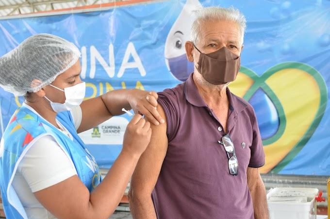 COVID-19: Veja como fica a vacinação em Campina Grande nesta sexta-feira