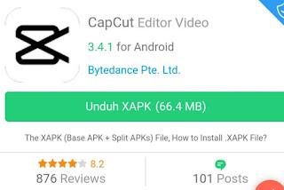 Download Aplikasi Capcut Mod Pro, Kelebihan dalam Mengedit Video Tiktok atau Story WA