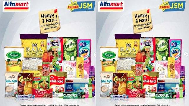 Promo JSM Alfamart 13-15 November