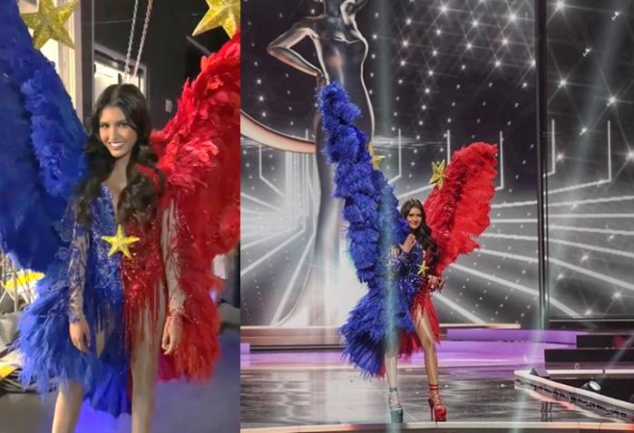 Rabiya Mateo's Philippine flag-inspired national costume