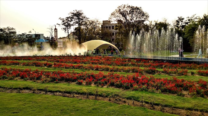Marvelous  Garden at Indore