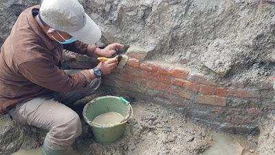 Arkeolog Temukan Struktur Bangunan Di Situs Sambimaya Indramayu