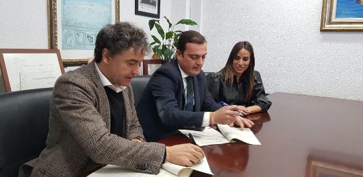 Convenio para fomentar acciones de promoción de turismo cinematográfico en Peñíscola