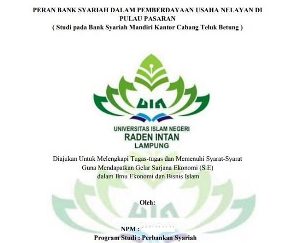 Contoh Judul Skripsi Perbankan Syariah Terbaru Omndo Com