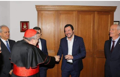 UPDATE: POPE FRANCIS FLY OVER DOOM FOR ITALY: SALVINI OUSTED!