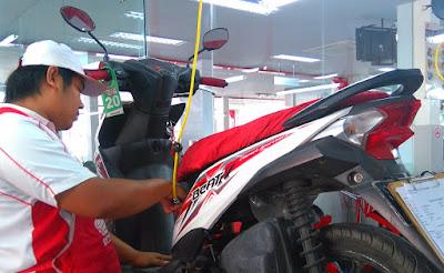 Service Motor Honda di AHASS (1)