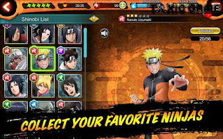 download naruto x boruto ninja voltage mod apk versi terbaru