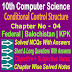 10 Class Computer Science | Conditional Control Structure