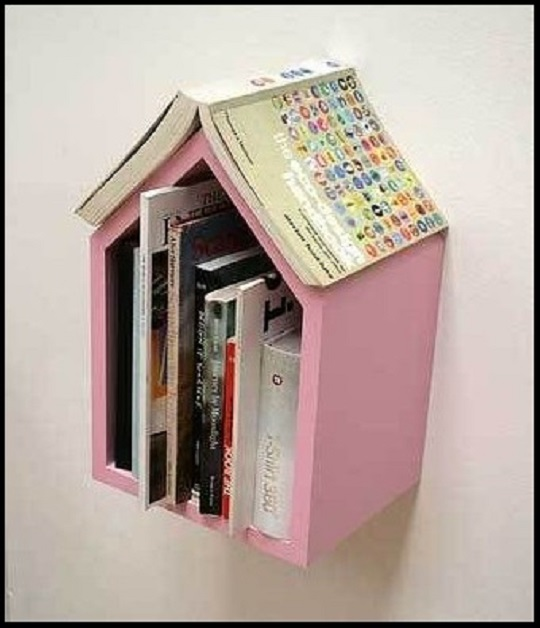bookshelves kids diy