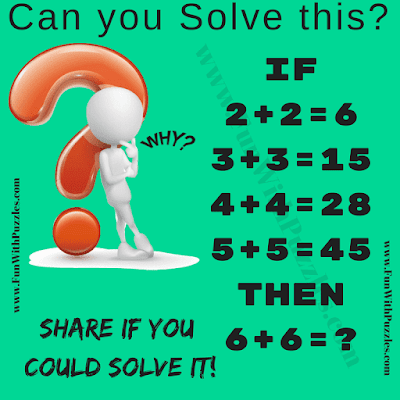 It is medium level difficulty Mathematical Puzzle in which you have to solve some logical equation and find value of missing number