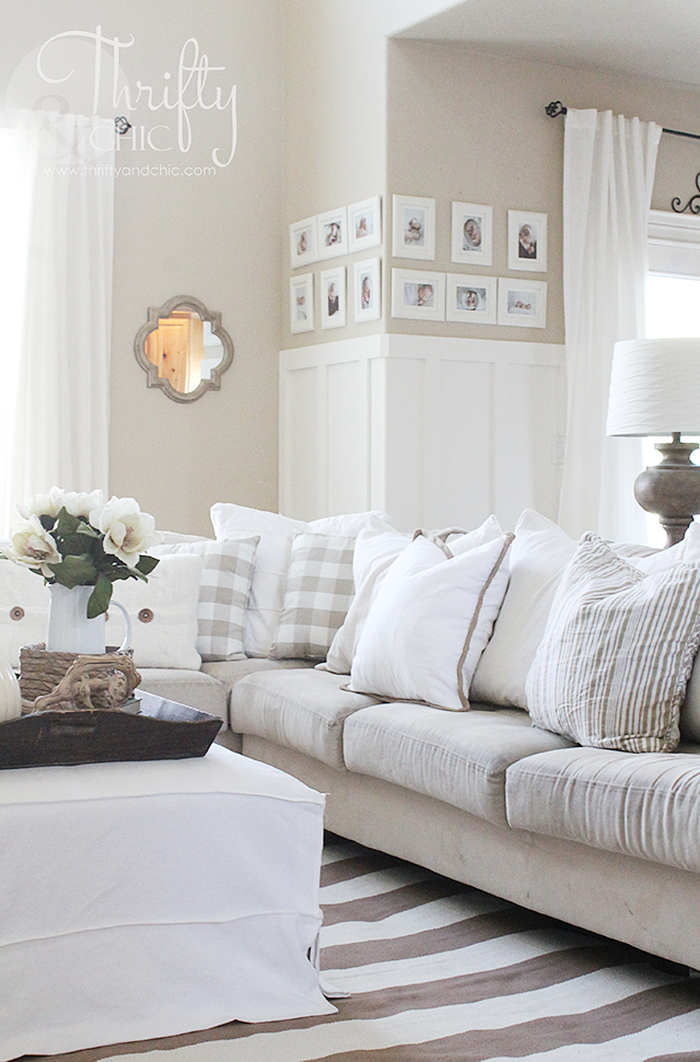 Thrifty and chic diy projects and home decor - Farmhouse interior paint colors ...