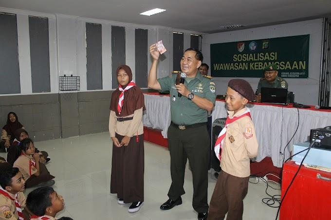 Hafal Pancasila, Danramil 03/Sukmajaya Beri Hadiah Uang