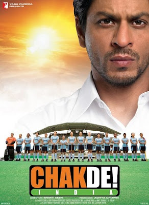 Chak De! India Shah Rukh Khan Movie Based on Hockey