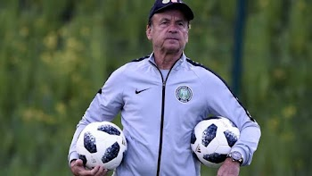 BREAKING: Nigeria extends Rohr's contract as Super Eagles coach