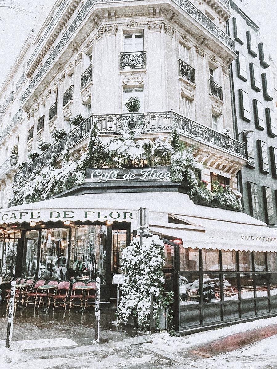 Weekday Wanderlust | From Instagram: Paris Sous La Neige / Paris in the Snow