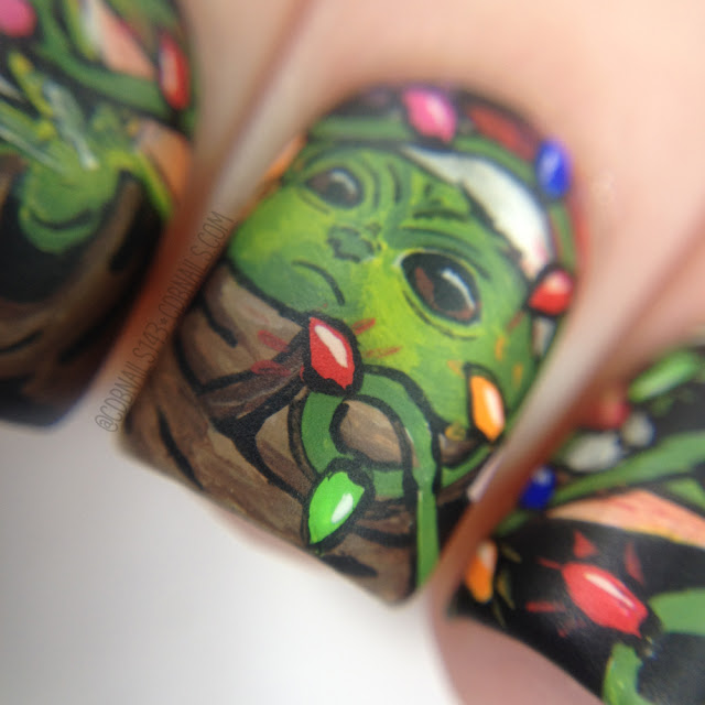 CDBnails-Baby Yoda Nails