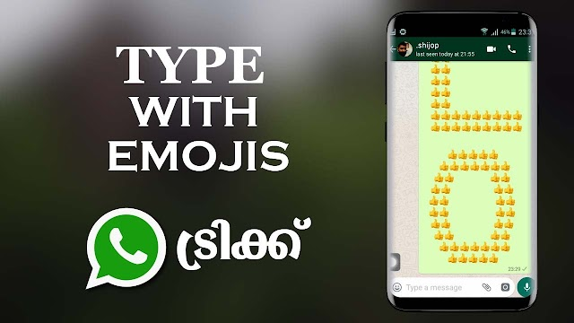 How to write with Emojis in WhatsApp Chat