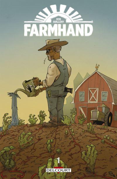 Livres Comics Farmhand L'Agenda Mensuel - Septembre 2019