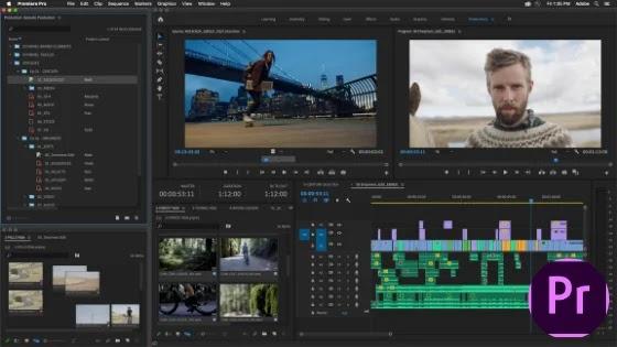 Adobe premiere Pro Video Software