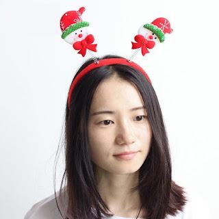 Snowman hair accessory