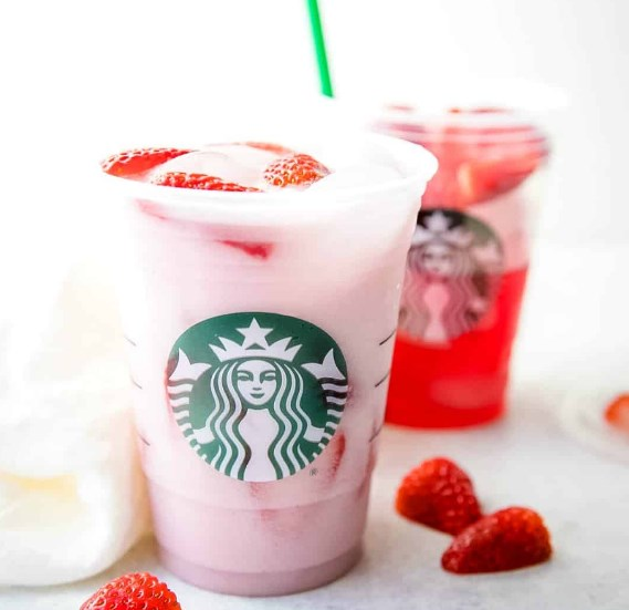 Starbucks Pink Drink Recipe #copycat #mixeddrink