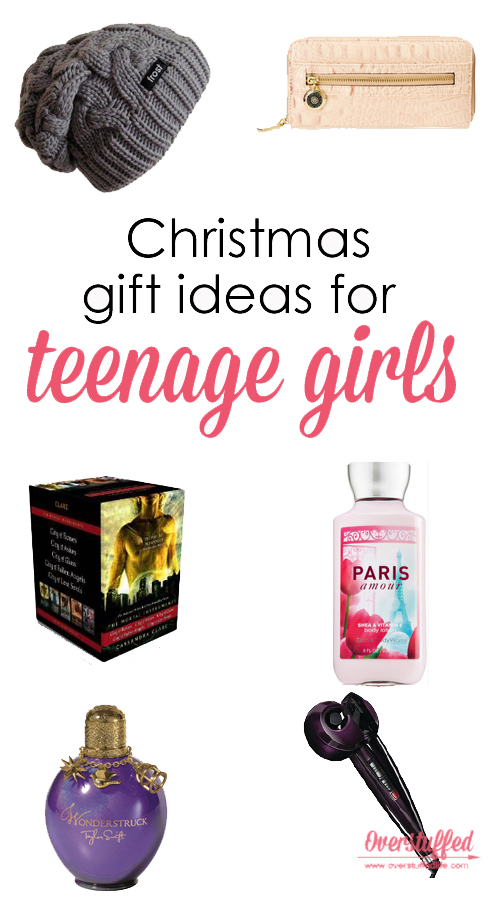 Christmas gift ideas for teenage girls--find the perfect gift for the teenager in your life!