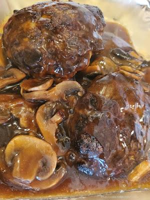 Venison Hamburger Salisbury Steak