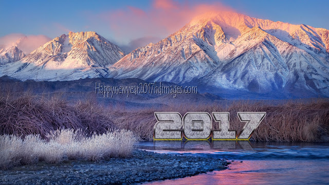 Happy New Year 2017 HD Mountain Wallpapers